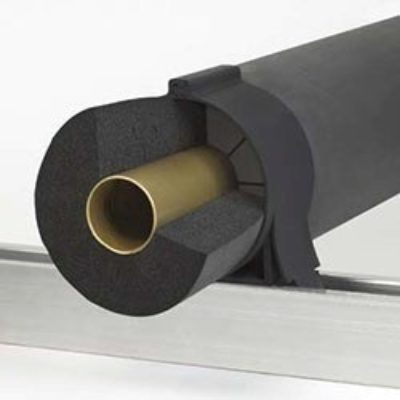 Klo-Shure® Strut Mounted One-Piece Insulation Coupling used with Elastomeric Insulation