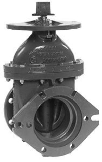 P-2361-16/19 Resilient Wedge Gate Valve, Flanged X Mechanical Joint Ends