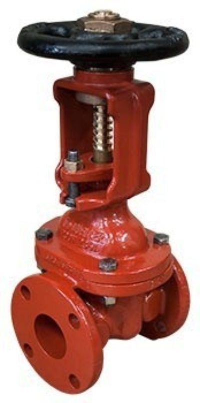 R-2361 O.S. & Y. Resilient Wedge Gate Valve, Flanged Ends