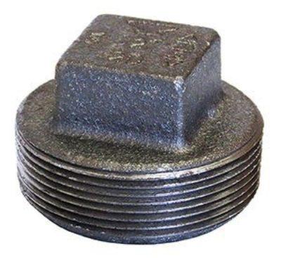 388 Square Head Plugs (Solid)