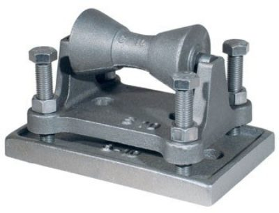 274 Adjustable Pipe Roll Stand w/ Base Plate
