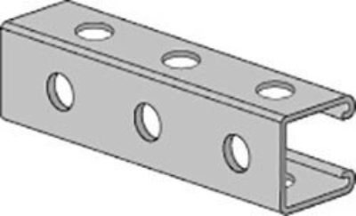 AS 200H3 Channel with Holes on all Three Sides