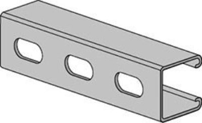 AS 210EH Channel with Elongated Holes