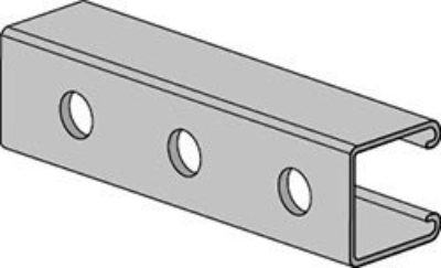 AS 210H Channel with Holes