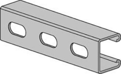 AS 300EH Channel with Elongated Holes