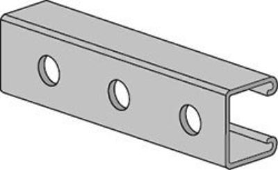 AS 300H Channel with Holes