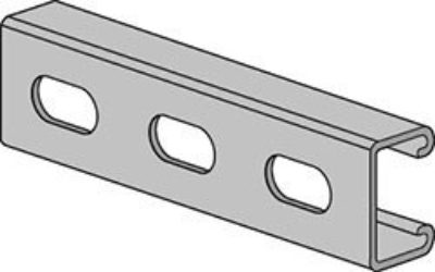 AS 400EH Channel with Elongated Holes
