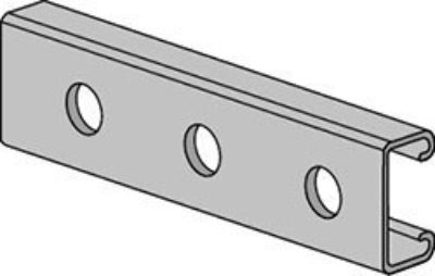 AS 500H Channel with Holes