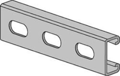 AS 520EH Channel with Elongated Holes