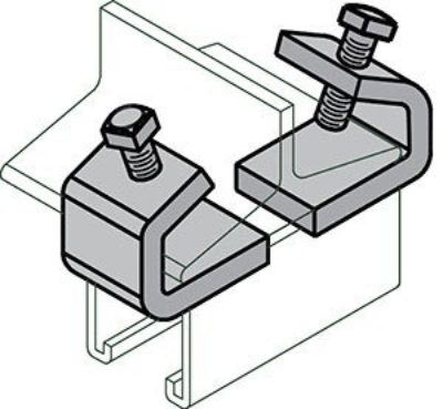 "AS 998 ""I"" Beam Clamp"
