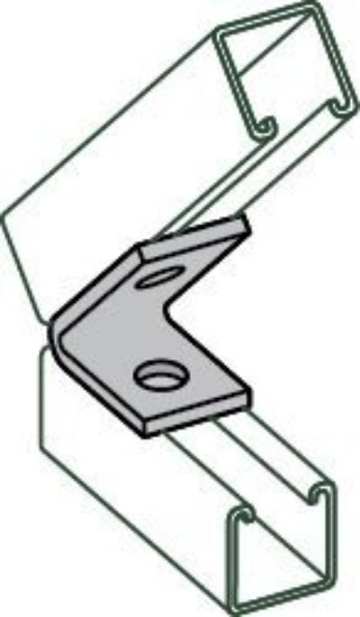 AS 624 Two Hole Closed Angle Connector