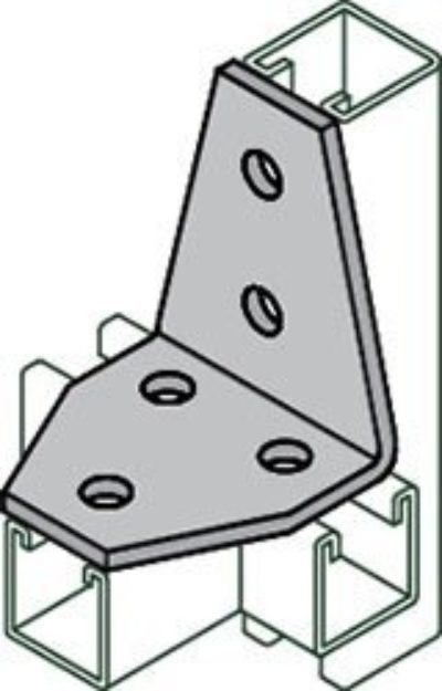 AS 615 Four Hole Shelf Joint Angle Connector
