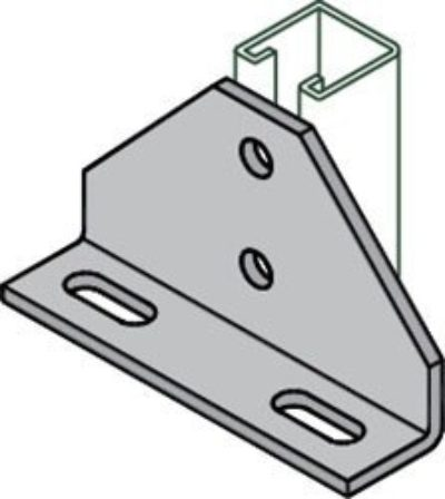 AS 689 Adjustable Double Slotted Corner Connector