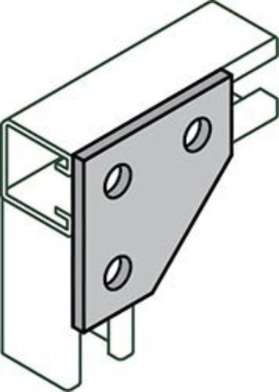 AS 744 Flat Corner Connector
