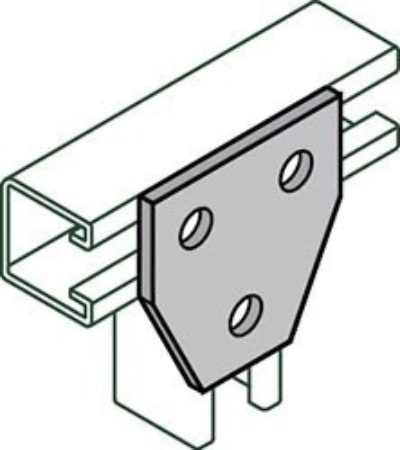 AS 925 Symmetrical Three Hole Joint Connector