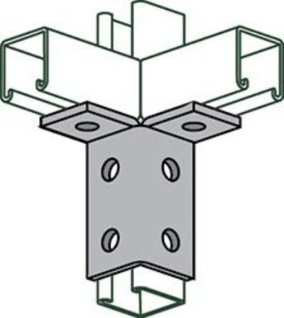 AS 666 Six Hole Double Corner Connector