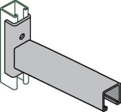 AS 661 T2 Strut Bracket (Slot Down)