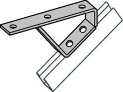 AS 2421 45º Stair Tread Support