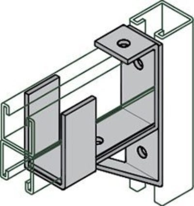 AS 3164 Double Channel Bracket Support