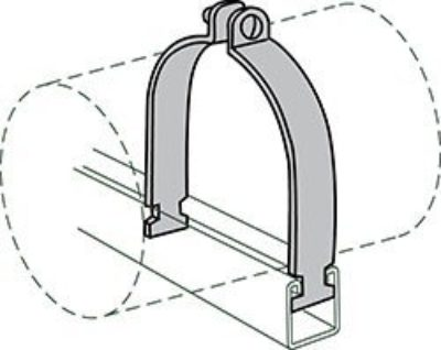AS 1200AS O.D. Tubing Clamp
