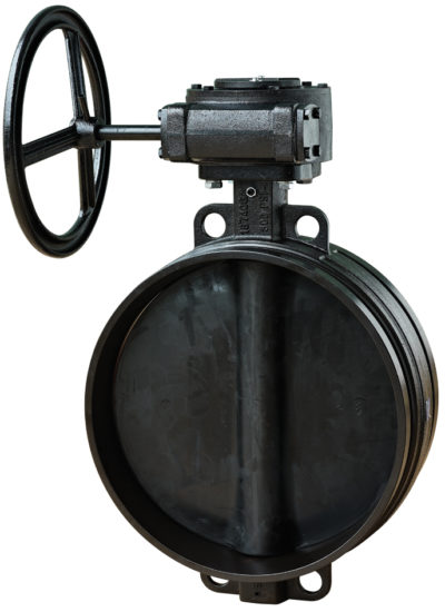 B333 Large Diameter Butterfly Valve with Gear Operator