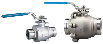 BV435 Grooved End Stainless Steel Ball Valve with Lever Handle