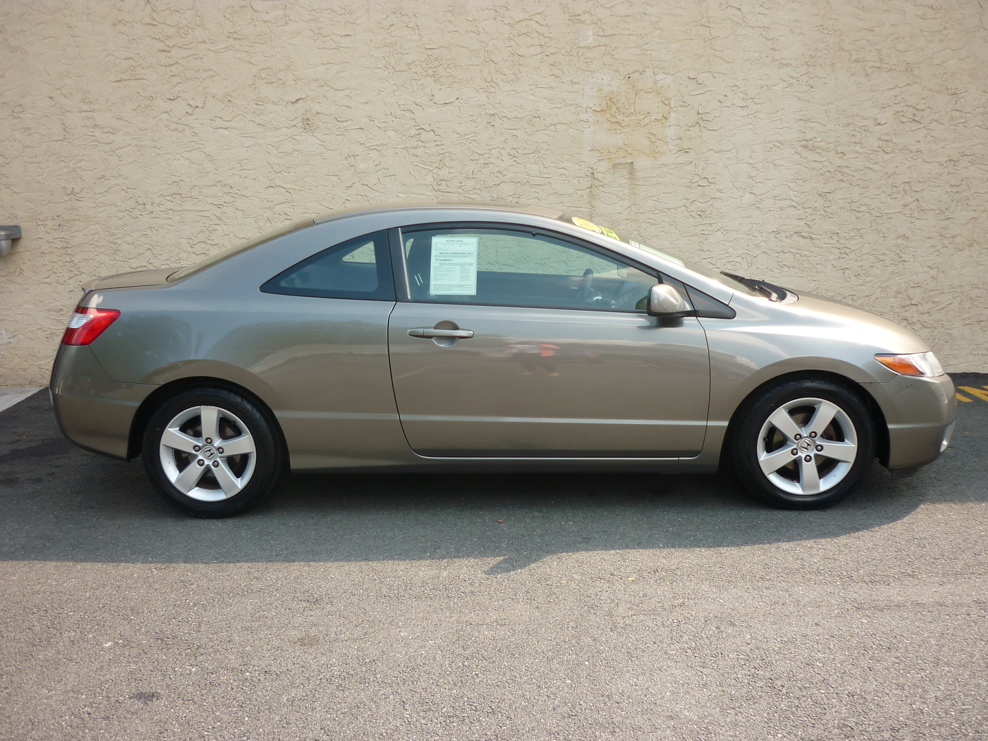 2007 Honda Civic EX 2dr Coupe (1.8L 4cyl 5A)