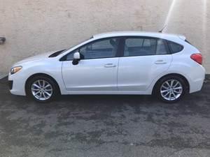 2012 Subaru Impreza 2.0i Premium PZEV 4dr Hatchback AWD (2.0L 4cyl CVT)
