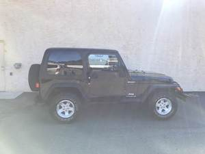 2004 Jeep Wrangler Sport 4WD 2dr Convertible SUV (4.0L 6cyl 4A)