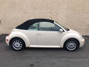 2005 Volkswagen New Beetle GLS 2dr Convertible (2.0L 4cyl 6A)