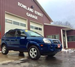2007 Hyundai Tucson FWD 4dr GLS
