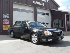 2002 Cadillac DeVille 4dr Sdn DTS