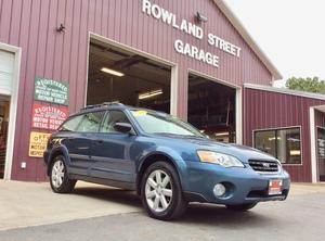 2006 Subaru Legacy Wagon Outback 2.5i Auto