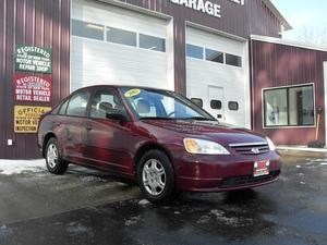 2002 Honda Civic LX 4dr Sedan (1.7L 4cyl 4A)