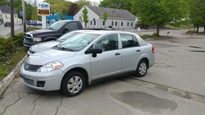 2009 Nissan Versa 1.6 4dr Sedan (1.6L 4cyl 5M)