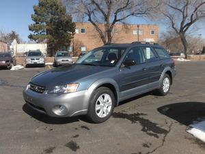 2005 Subaru Legacy Wagon (Natl) Outback 2.5i