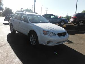 2007 Subaru Outback 2.5i 4dr Wagon AWD (2.5L 4cyl 4A)