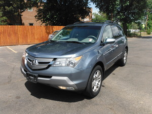 2007 Acura MDX 4WD 4dr Tech/Entertainment Pkg