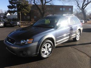 2005 Subaru Outback 2.5i AWD 4dr Wagon (2.5L 4cyl 4A)