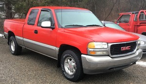 2000 GMC New Sierra 1500 Ext Cab 143.5