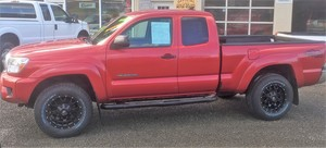 2012 Toyota Tacoma 4WD Access Cab I4 (Natl)