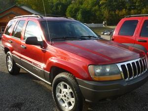 2001 Jeep Grand Cherokee Laredo 4WD 4dr SUV (4.0L 6cyl 4A)