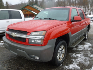 2002 Chevrolet Avalanche 1500 4dr Crew Cab 4WD (5.3L 8cyl 4A)