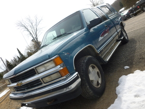 1998 Chevrolet Z71 Ext Cab 141.5