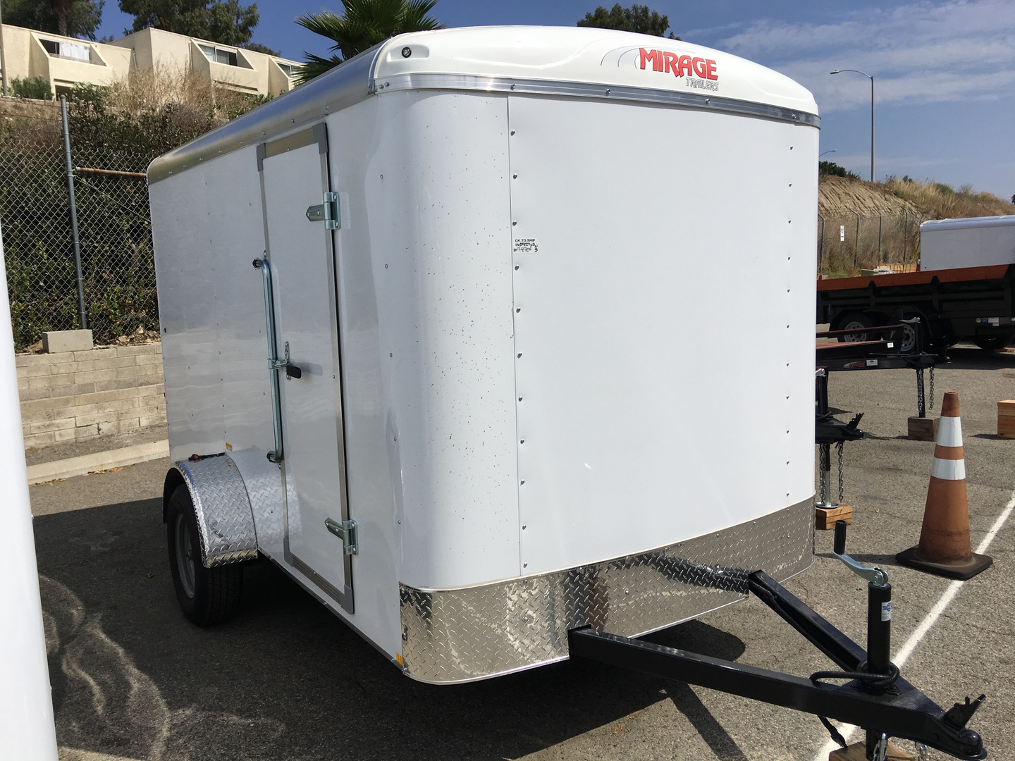 Buy 2018 Mirage 6x10 Enclosed Trailer Oceanside Ca Conover Car Wiring Image Search Results 3200