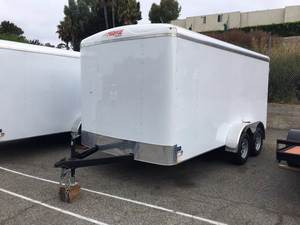 2018 Mirage 7X14 Enclosed Trailer - Barn Doors
