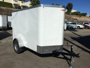 2019 Mirage 5X8 Enclosed Trailer