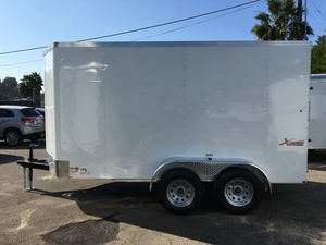 2019 Mirage 6X12 Tandem Axle Enclosed Traile