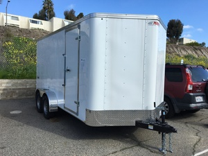 2019 Mirage 7X14 Enclosed Trailer
