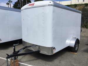 2018 Mirage 6X10 Enclosed Trailer - Barn Doors